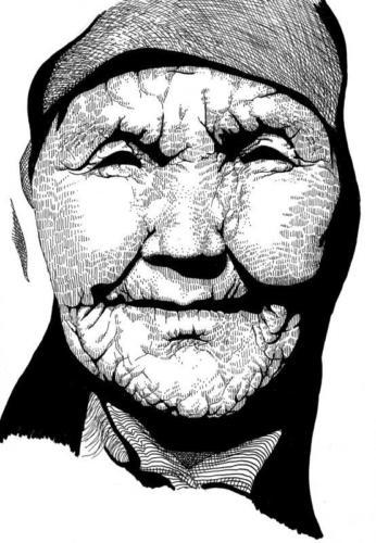 Oude vrouw Twee