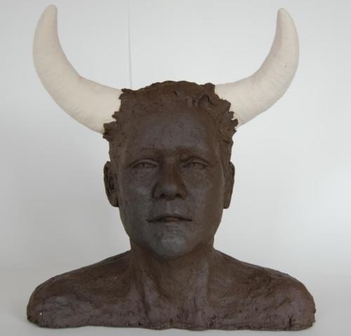 Zelfportret Minotaurus